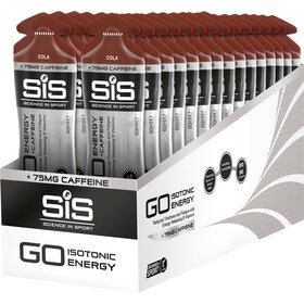 SiS GO Plus Caffeine Gel Box 30x60ml Cola